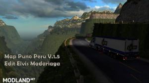 Map Puno Peru v 1.6
