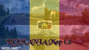 ROMANIA Map 1.8