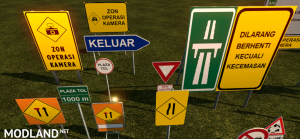 Malaysia Road Signs, 3 photo