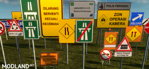 Malaysia Road Signs, 5 photo