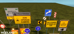 Malaysia Road Signs, 6 photo