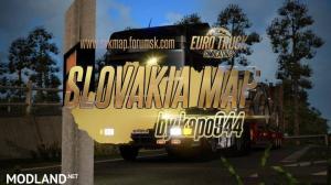 Slovakia Map v 6.0 by kapo944