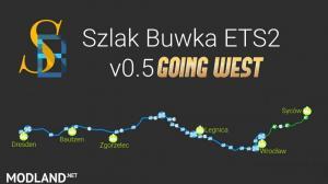 Szlak Buwka v0.5 for Fikcyjna Polska 1:5 [ETS2 1.37]