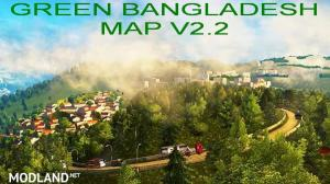 Green Bangladesh Map v2.2 1.36.x, 1 photo