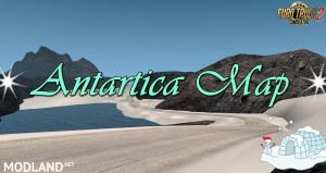 Antarctica Map v 0.2 1.34.x - External Download image