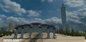 R.O.C (Republic Of China) Taiwan Map & P.R.C Map add-on v 0.23, 2 photo
