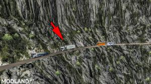 ROTAS JOSIMAR MAP MOD [Extreme and Dangerous Roads Map] for ETS2 1.37, 8 photo