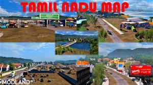 Tamil Nadu Map For 1.31 - 1.35