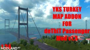 deTbiT Bus Terminal - YKS Turkey Map Addon, 1 photo