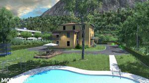 House in Italy with garage, refuel, parking and service [1.37+]