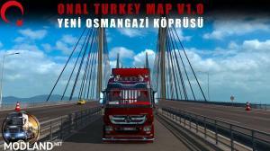 Onal Turkey Map v 1.0 Beta