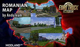 Romania Map by AnduTeam v 1.0