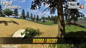 Warmia i Mazury Map