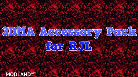 3DMA Accessory Pack for RJL