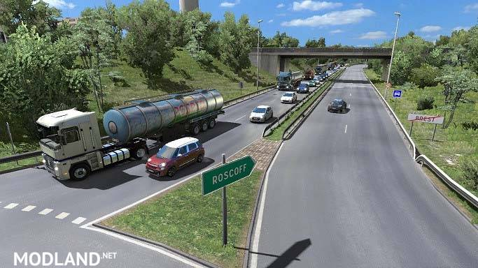 Traffic Mod for ETS2