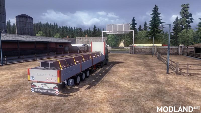 Koegel steel beams Trailer