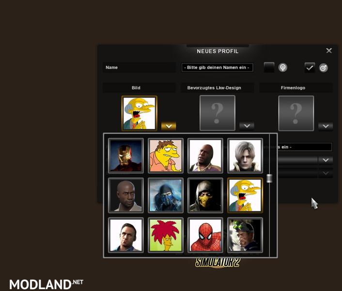 New Driver Icons V 1 0 Mod For Ets 2