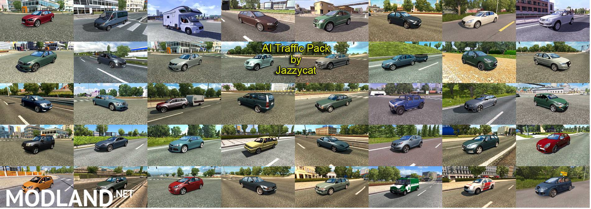 AI Traffic Pack by Jazzycat v 7 3 mod for ETS 2