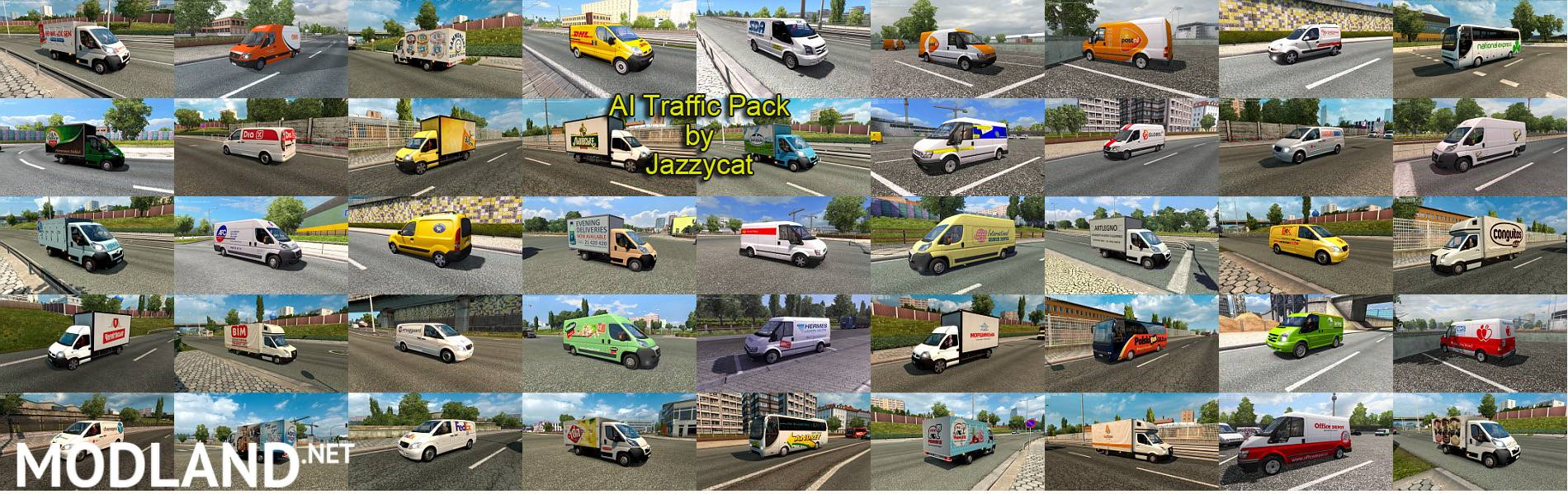 Ai Traffic Pack By Jazzycat V53 Mod For Ets 2