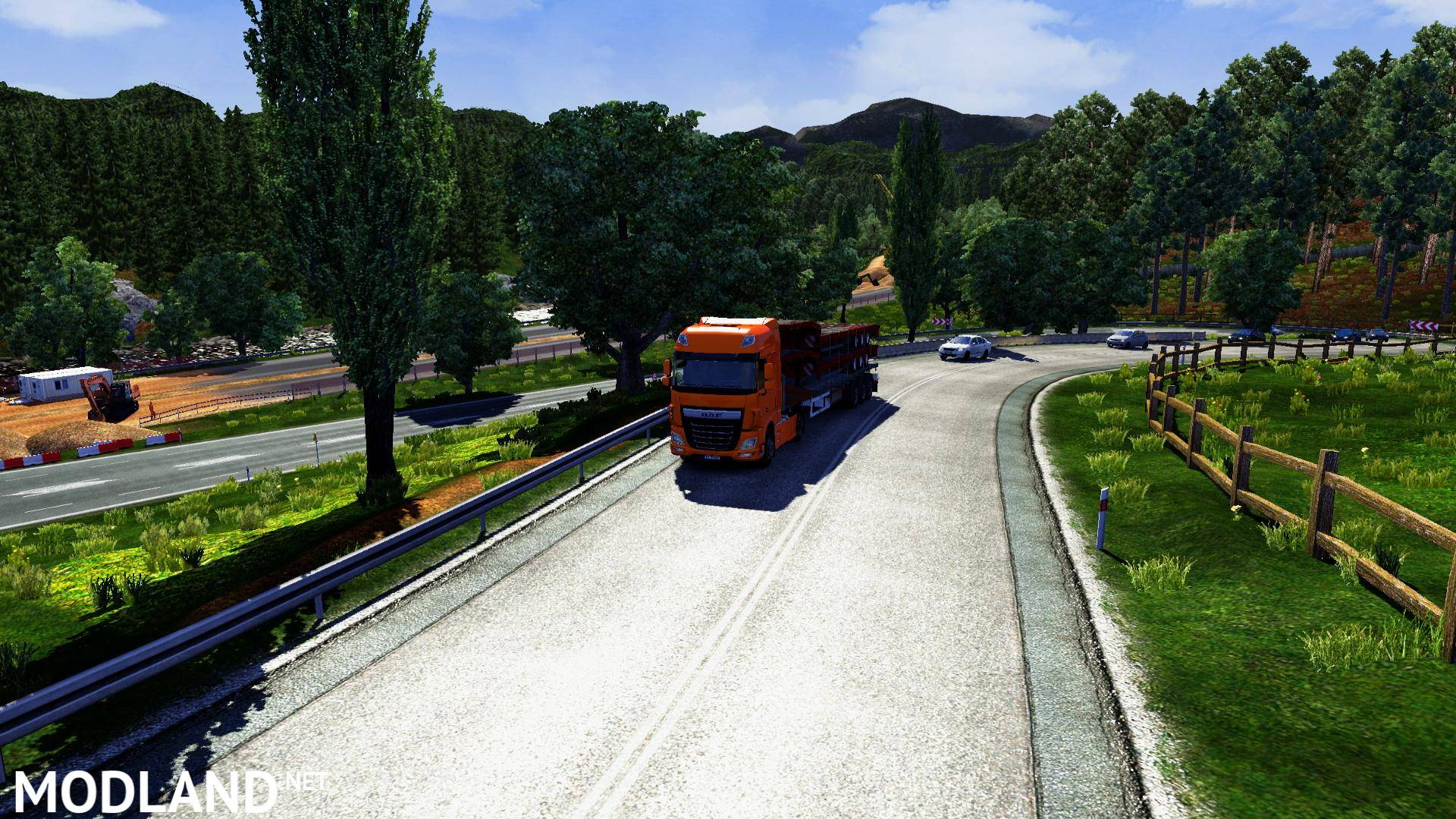 HD Graphics v 3 0 by Rantkel mod for ETS 2