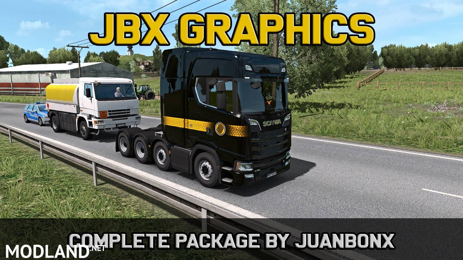 JBX Graphics - Complete Package (10-1-2019) mod for ETS 2