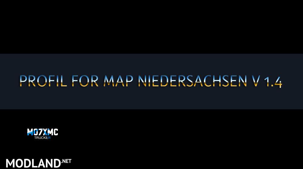 niedersachsen mapa
