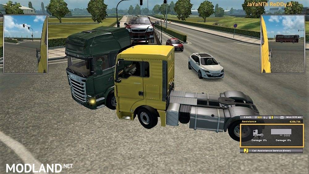 No Damage Mod v 1 1 mod for ETS 2