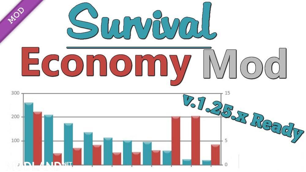 Survival Economy Mod mod for ETS 2