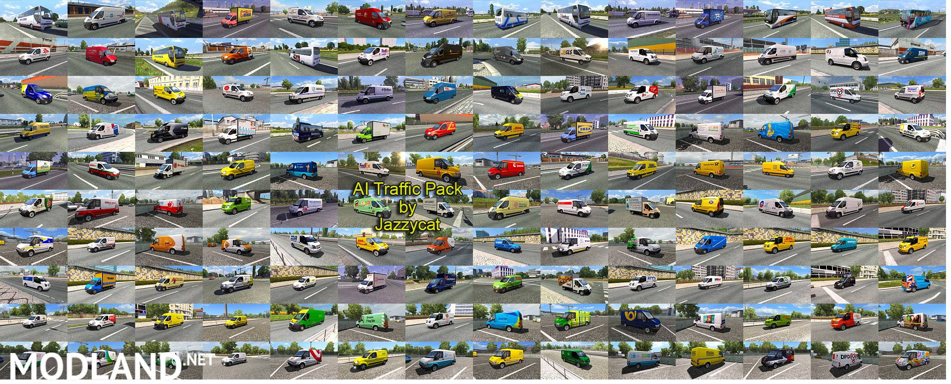 Ai Traffic Pack By Jazzycat V 3 5 Mod For Ets 2