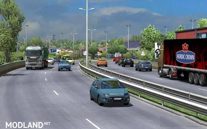 Traffic density mod for ETS2 1 26 mod for ETS 2