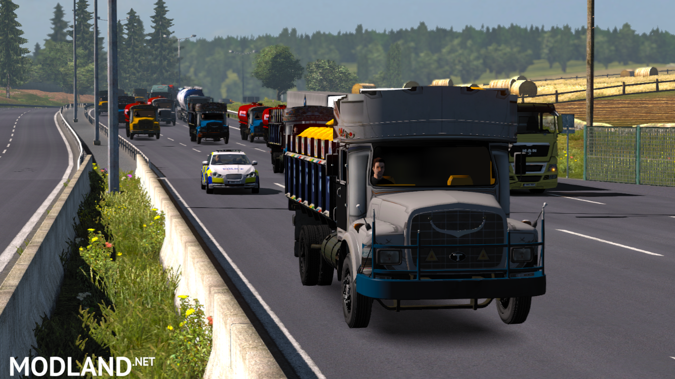 Local Traffic Pack - Bangladesh (Version 1 31) mod for ETS 2