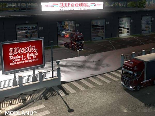 Garage doors mod for ets 2 for Garage modification