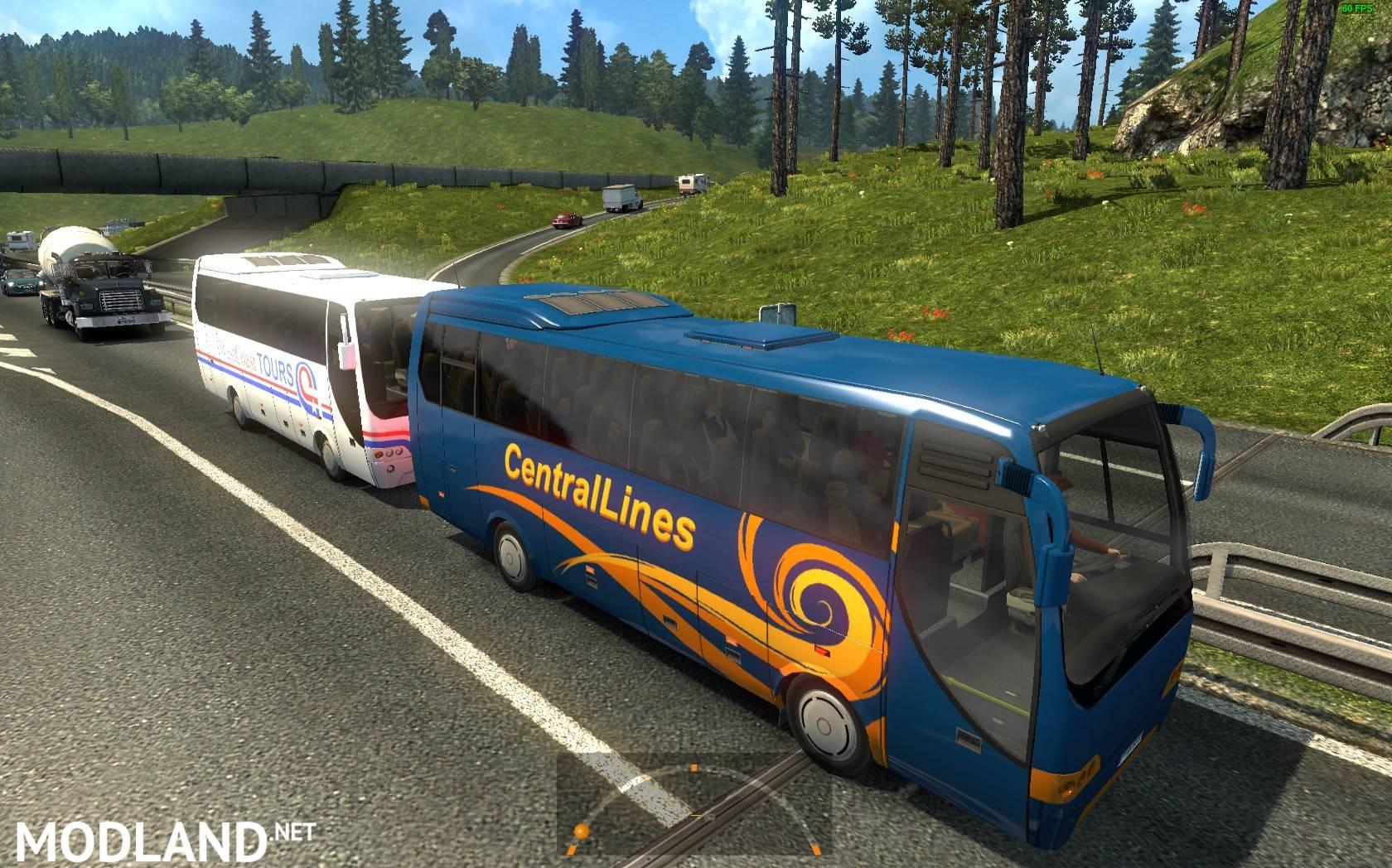 All American Traffic for Europe v3 0 for 1 25 mod for ETS 2