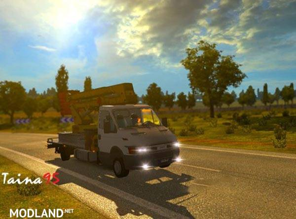 iveco daily servicer ai traffic mod for ets 2