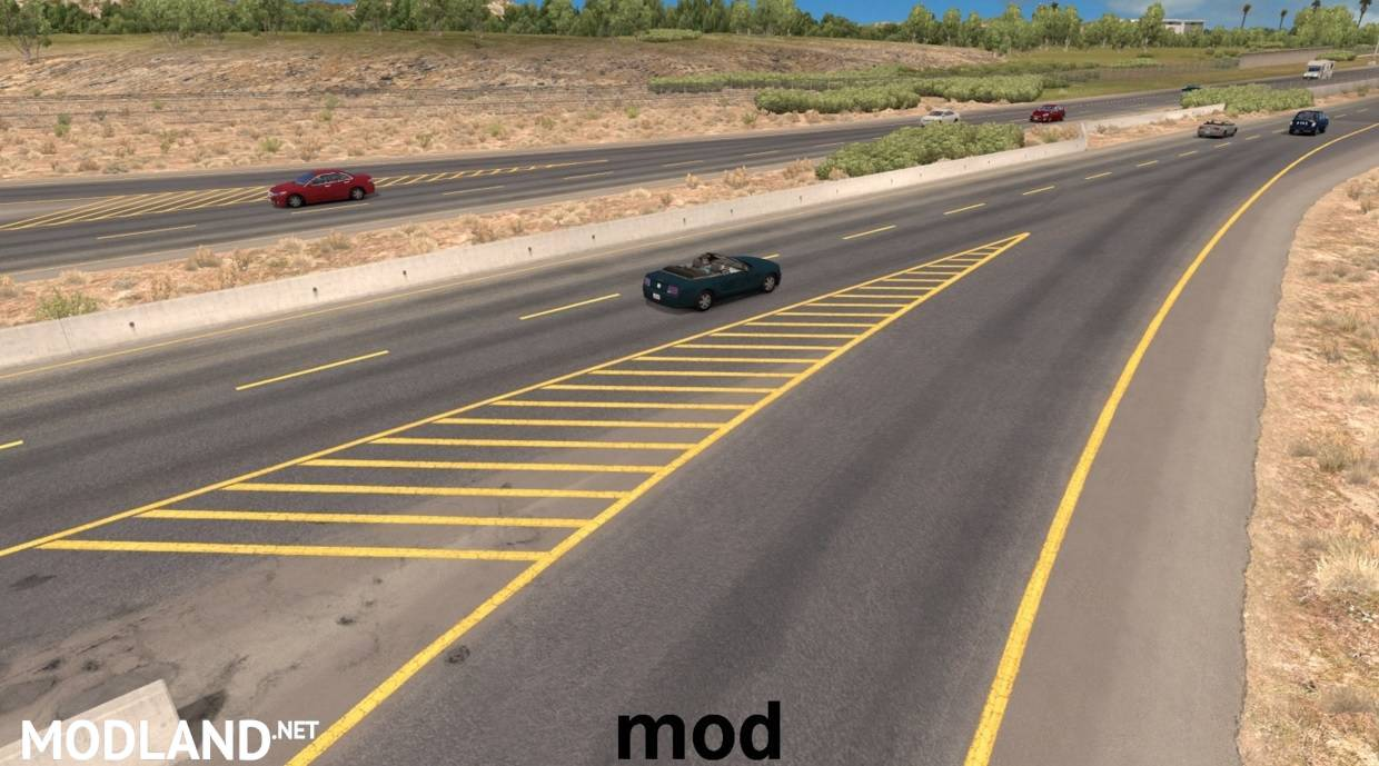 Road Yellow Lines