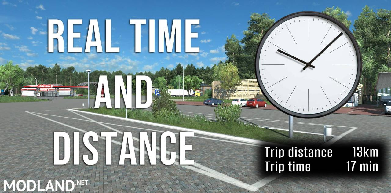 Real time and distance