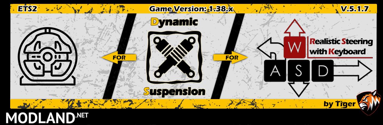 [ETS2] Dynamic Suspension V5.1.7 [1.38]
