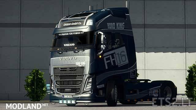 Pendragon Volvo FH16 Truck Dealer Fix (for 1.34)