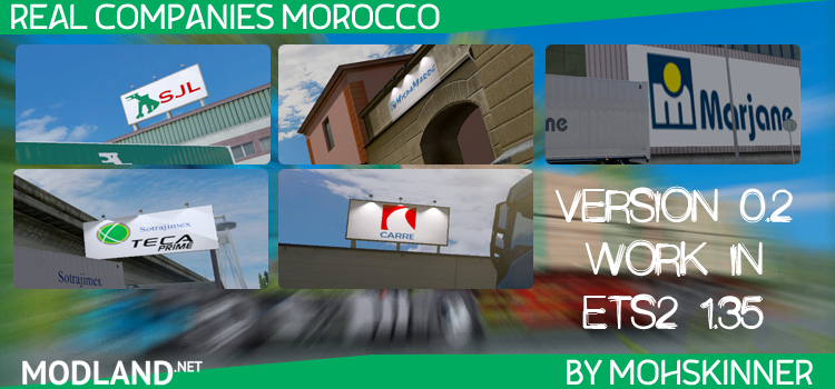 Real Companies Morocco 0.2 - ETS2 1.35