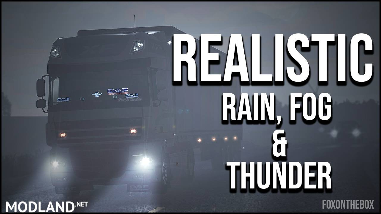 Realistic Rain & Fog & Thunder Sounds