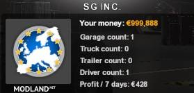 New Profile For ETS 2 1.37 with 100000 Money