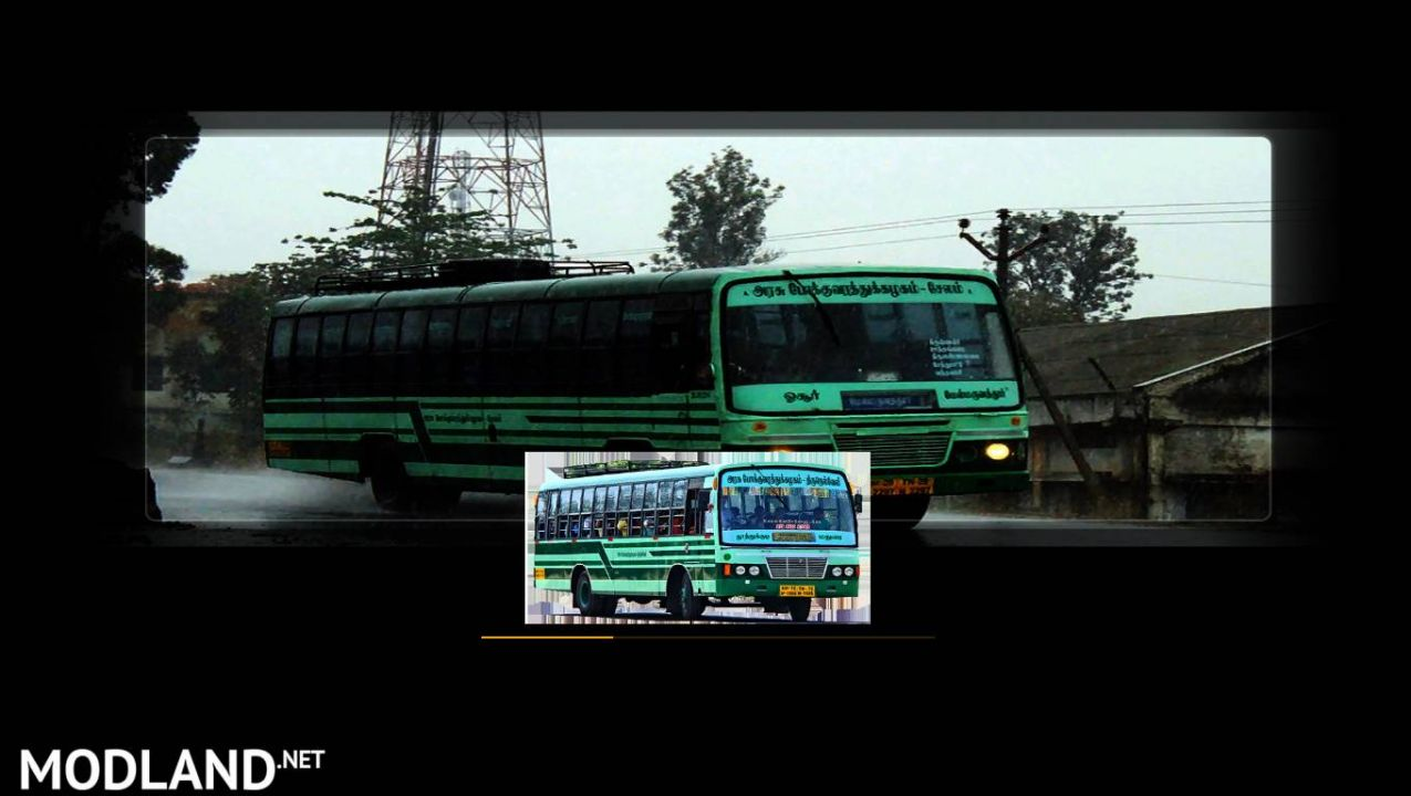 Indian Bus Loading Screen (TNSTC Bus)