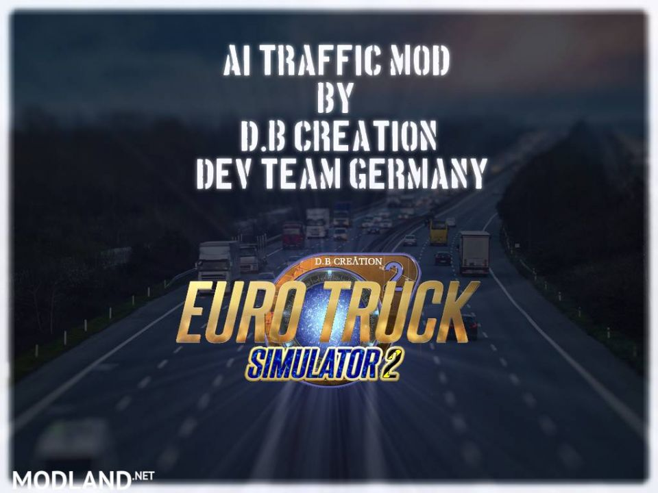 """D.B Creation's """"AI Traffic Mods"""" for 1.36 [25.01.2020]"""