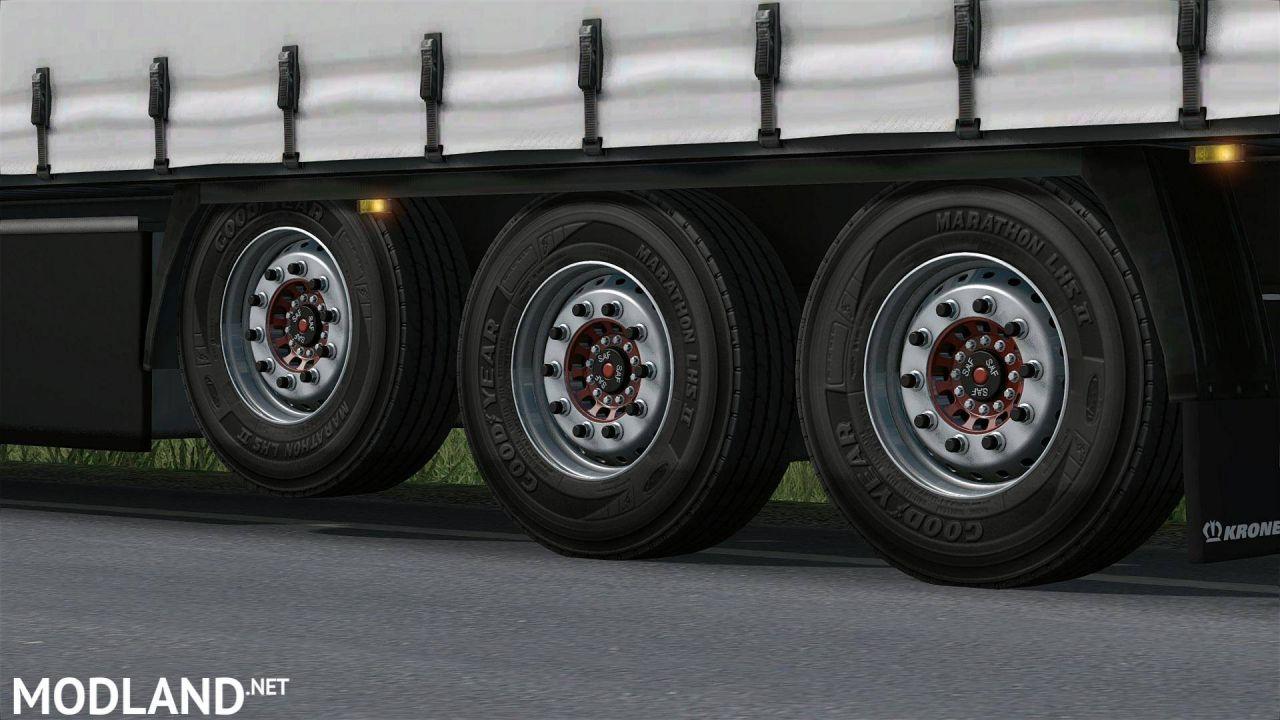 Wheels for trailer (1.27)