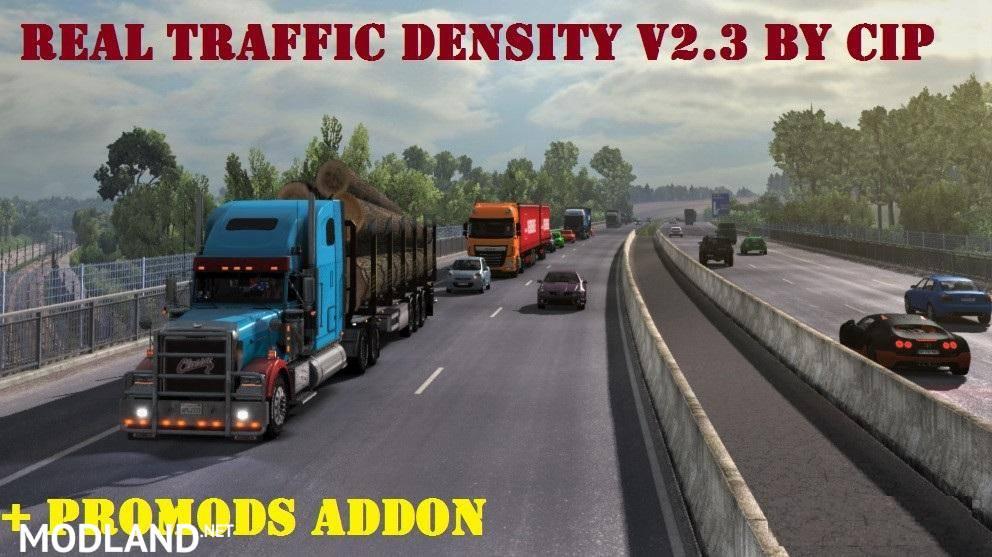 Real Traffic Density v2 3 mod for ETS 2