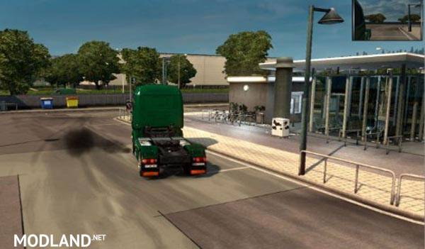 Scania R Exhaust Smoke Mod For Ets 2