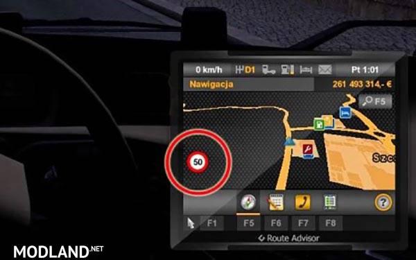 скачать моды на Euro Truck Simulator 2 на скорость - фото 8
