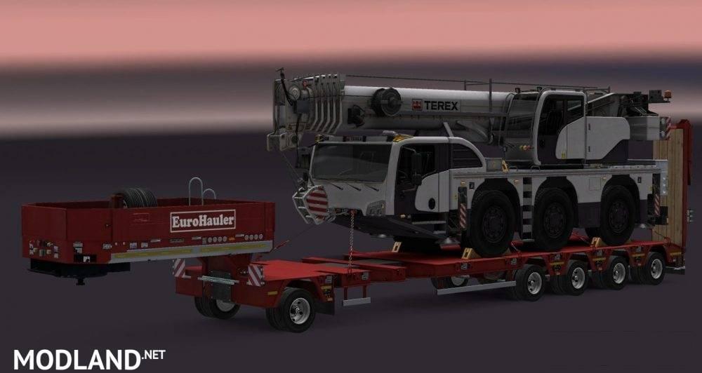real terex logo for heavy cargo dlc mod for ets 2. Black Bedroom Furniture Sets. Home Design Ideas
