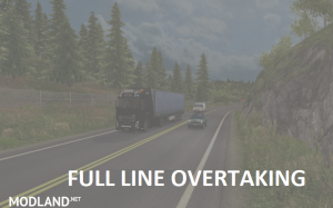 Overtaking over the Full Line