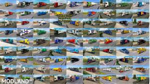 Painted Truck Traffic Pack by Jazzycat v10.7